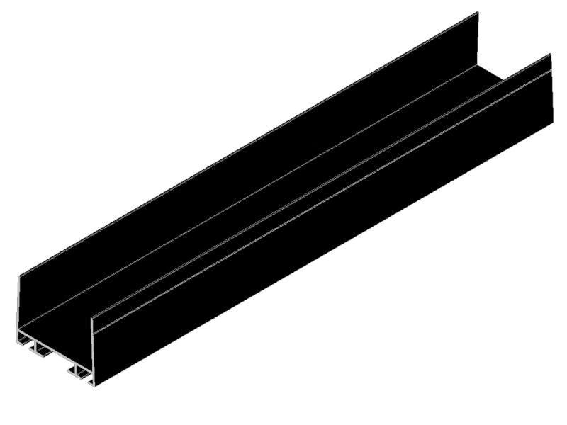 Profil aluminiu inferior-min